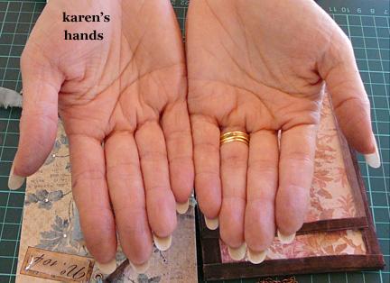 Hands of karen