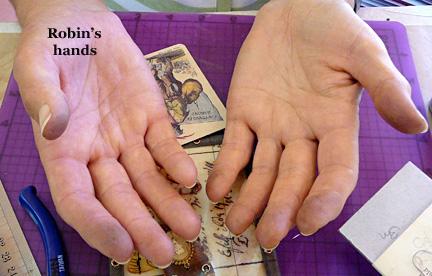 Hands of robin