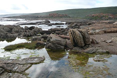 Water trough coastline