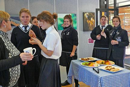 Perth college reception
