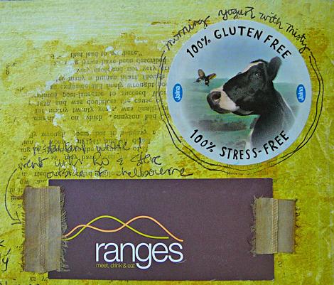 Journal page ranges and yogurt