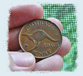 Vintage australian penny