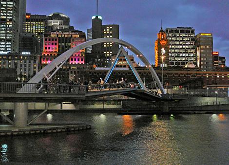Melbourne river scene