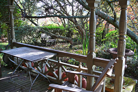 Lea's front porch