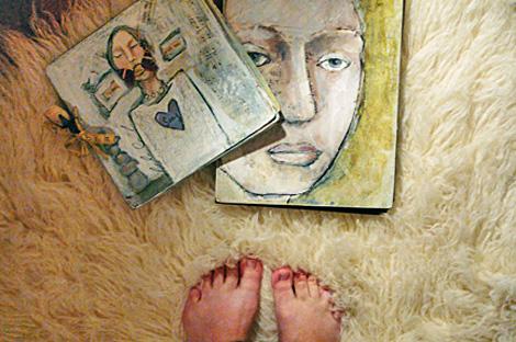 Comforted feet
