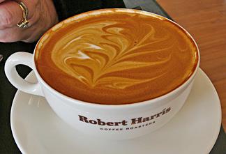 Wendy's latte