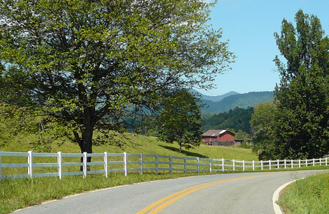Sunset farm road