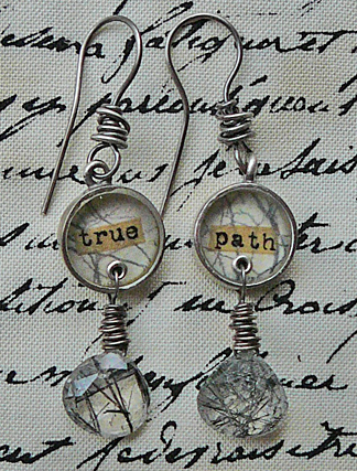 True path earrings