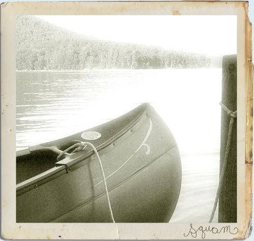 Squam canoe