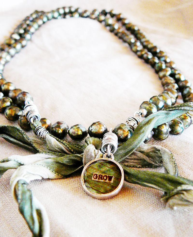 Grow mala necklace