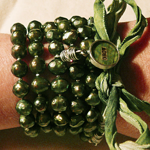 Grow mala bracelet wrap 1
