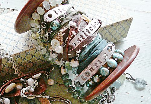 Identity bracelets on spool