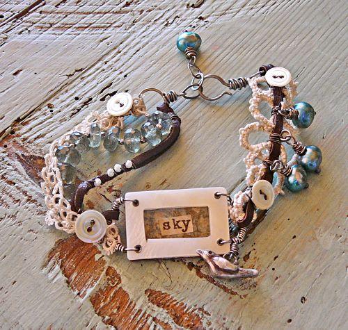 Sky bird bracelet 2
