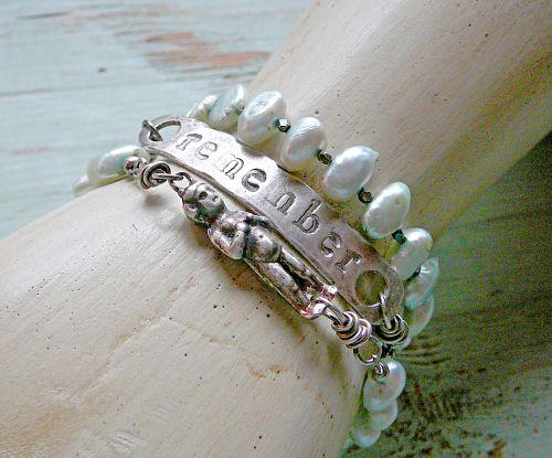 Remember wrap bracelet