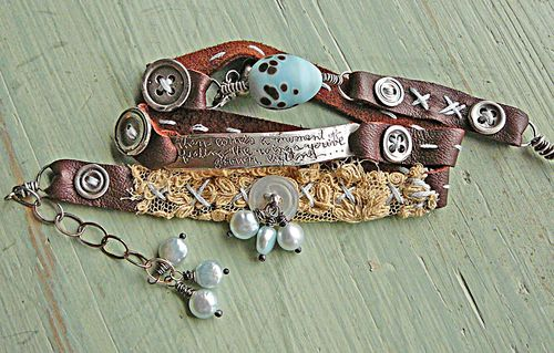 Wrap bracelet rumi