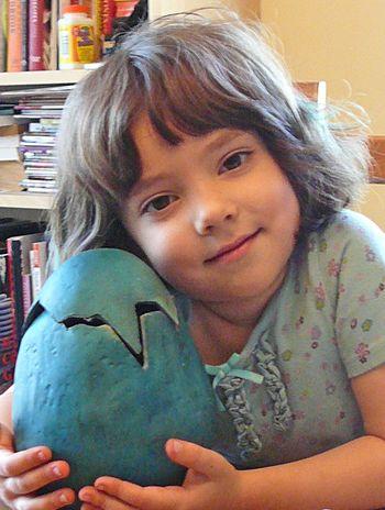 Azalea and her egg