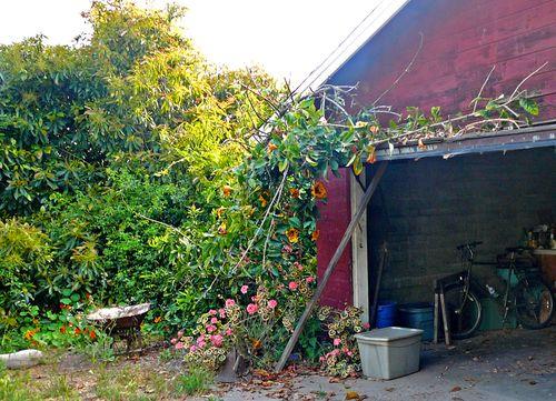 Orchard garage
