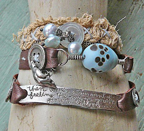 Then comes a moment wrap bracelet second view