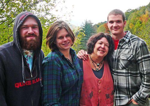 Beloved family on my 53rd birthday