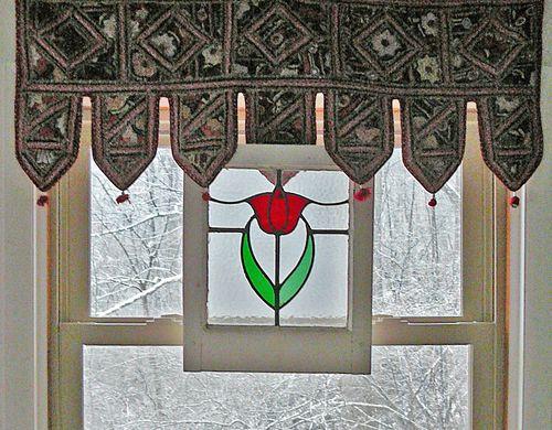 First snow window
