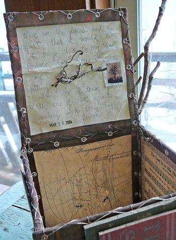 Chair box interior