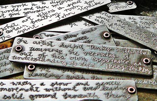 Quotation stick detail