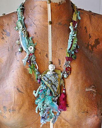 Gypsy fairy neckace