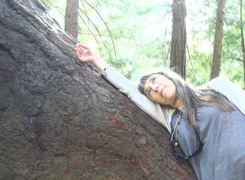 Lorrie and the tree