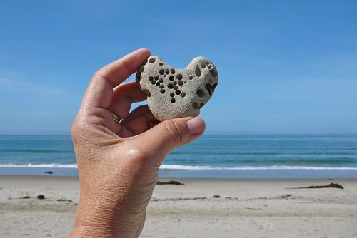 Carpinteria heart rock