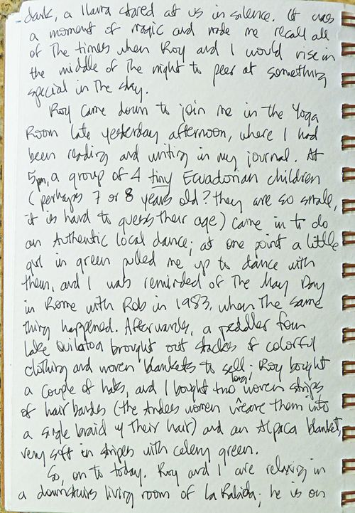 Journal page 18