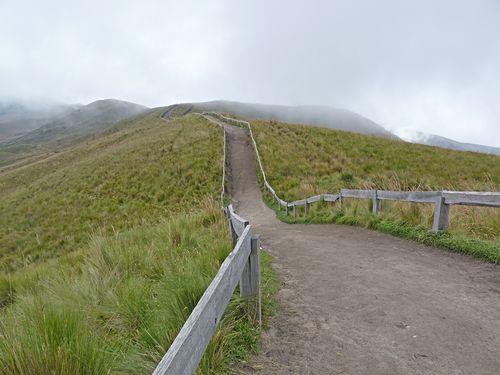 Pichincia trail