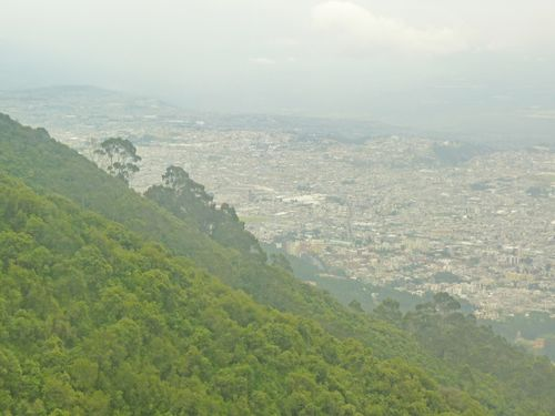 Quito in the mist