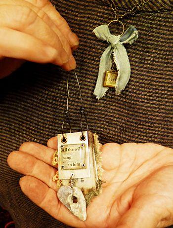Workshop necklace - lise