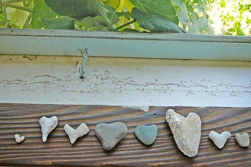 Heart rocks 1