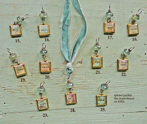 Moss aquamarine lockets 15-25