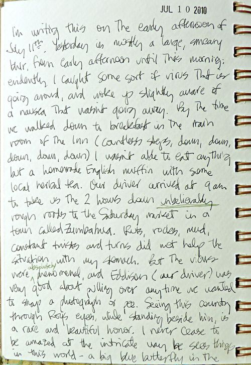 Journal page 10