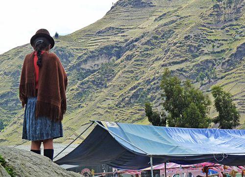 Zumbahua market girl