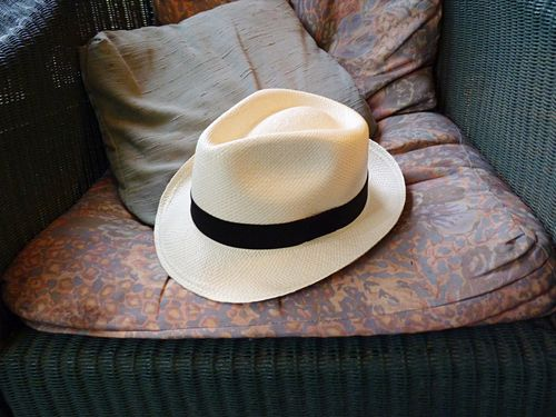 Roy's hat from ecuador