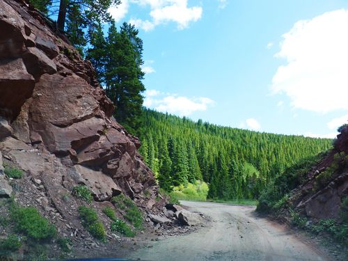 Boreas pass red rock