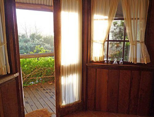 Dwellingup cottage open door