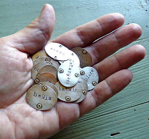 Onward pendants in hand
