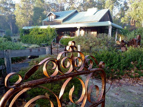 Dwellingup cottage and gate 1