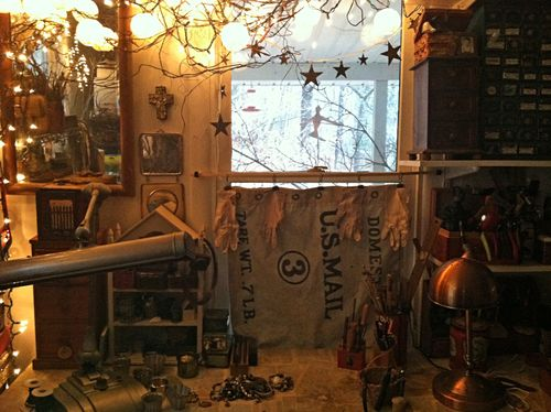Studio window ornamental