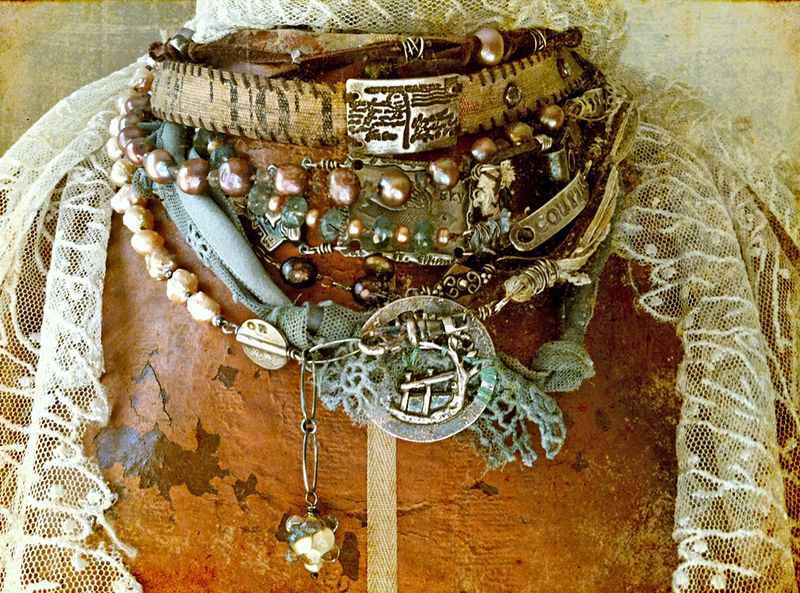 Wrap bracelet necklace 1