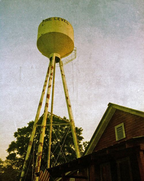 Reds water tower