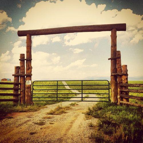 Back road gate