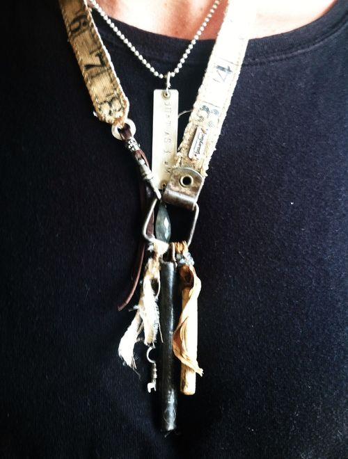 Jenn's necklace detail