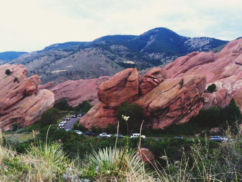 Red rocks arriving