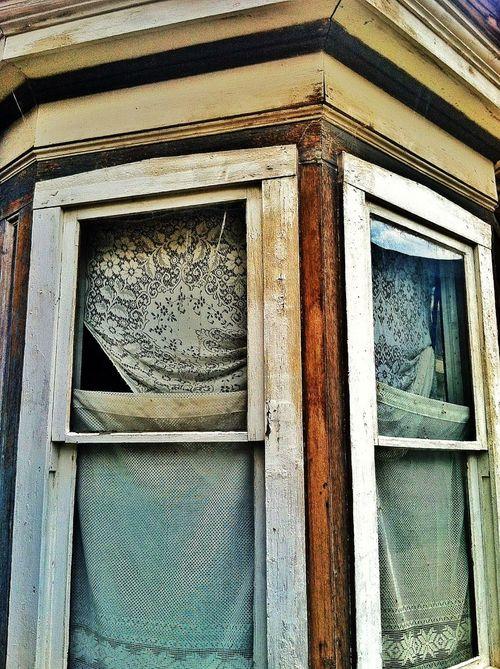 Lost lace window