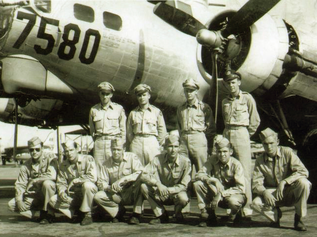 Daddy with flight crew 1